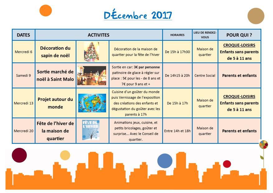 Decembre 2017 en cours